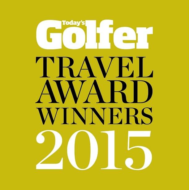 Todays Golfer 2015 Award