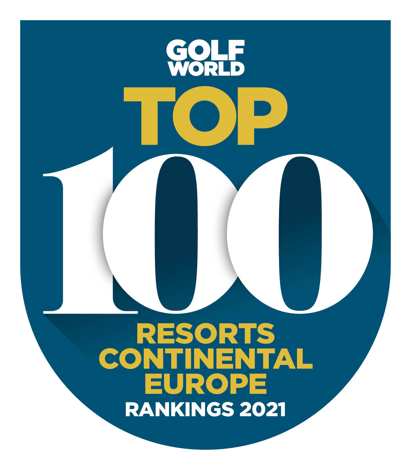 Top 100 RESORTS for Continental Europe 2021